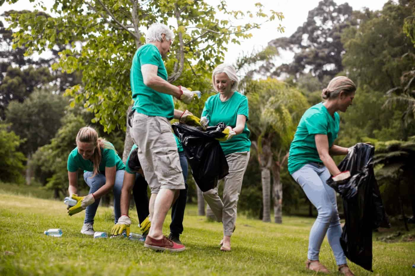 Picking Up Litter Keeping Your Environment Clean